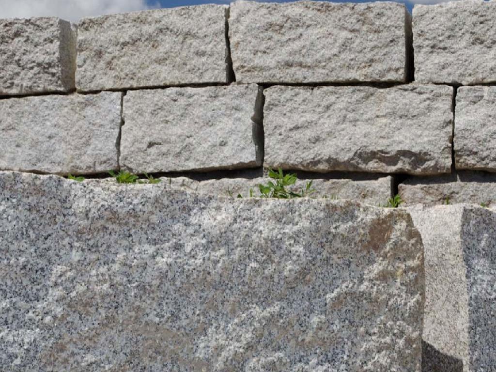 ansehen! Granitmauersteine Granitblöcke Granit Steine 24 Tonnen inkl.Lieferung